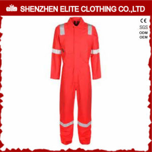 Custom High Visibility Flame Retardant Safety Coverall (ELTHVCI-14) pictures & photos