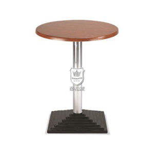 Cherry Chipboard Table Small Round in Cafe Shop pictures & photos