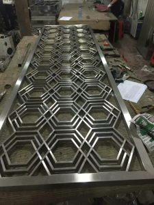 304 Laser Cut Metal Decorative Color Stainless Steel Screen