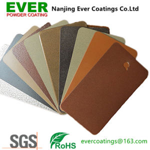 Electrostatic Spray Heat Transfer Wood Effect Powder Coating pictures & photos