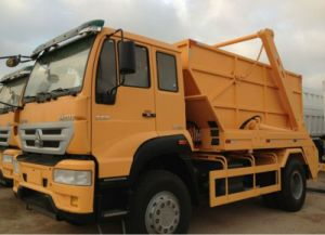 Swing Arm Type Garbage Truck pictures & photos