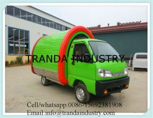 Mobile Food Car/Electric Food Bus for Selling Ice Cream pictures & photos