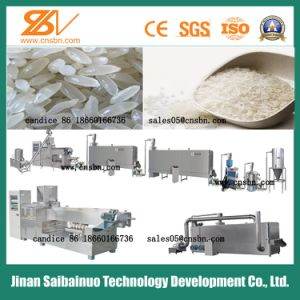 Industrial Stainless Steel Artificial Rice Production Line pictures & photos