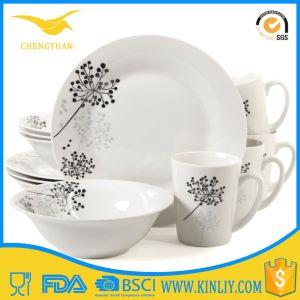 China Quality Assurance Wavy Dinner Set Ceramic Bone Dinnerware pictures & photos