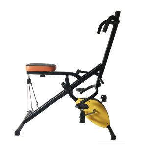Total Crunch Spin Exercise Bike Strength Fitness Equipment