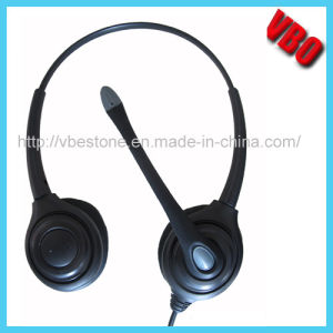 Headset for Telephone Operator Call Center Headset for Telephone Headset Rj11 pictures & photos