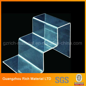 Customized Clear Acrylic Display Stand/Exhibition Plexiglass Plastic Display Stand pictures & photos