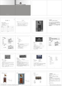 Specification /Instruction Book/ Manual pictures & photos
