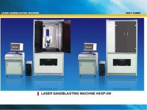 Surface Laser Sandblasting Machine (HSGP-5W) pictures & photos