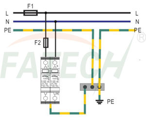 1 Phase Type 1+2 Surge Arrester pictures & photos