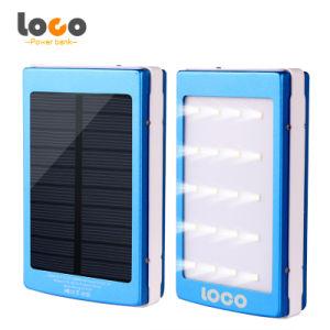 High Capacity Dual USB Output 12000mAh Solar Power Bank