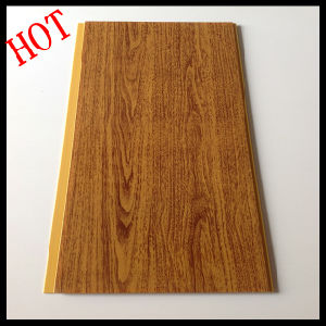 Wood Color PVC Wall Panel & Ceiling for Interior Designs pictures & photos