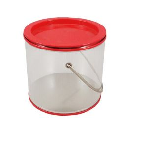 PVC Pet Clear Paint Bucket Tin Cans pictures & photos