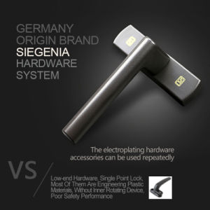 Frech Door with Multi Point Locks From German Brand Hardware System Siegenia pictures & photos