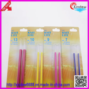 Colorful Knitting Needles with Light (2 PCS) pictures & photos