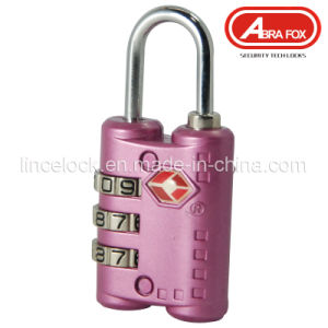 Zinc Alloy Tsa Combination Padlock (TSA 301) pictures & photos