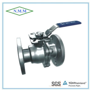 Stainless Steel ANSI High Mounting Pad Flanged Ends Ball Valve pictures & photos