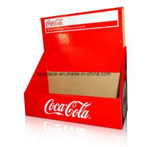 Cola Drinks Display Counter Units PDQ Display with Matt Lamination pictures & photos