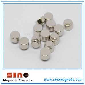 Dics Sinter NdFeB Permanent Magnet pictures & photos