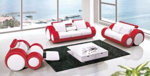 Strange Shape Modern Leather Sofa Set (Y28) pictures & photos