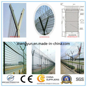 GS Certificated Factory Supply Anti-Climb Welded Security Airport Fencing pictures & photos