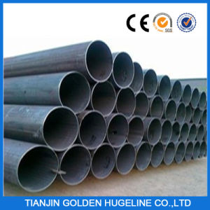 ASTM A53 Gr. B ERW Welded Black Pipe pictures & photos