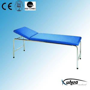 Steel Painted Examination Bed with Backrest Adjustable (I-2) pictures & photos