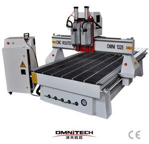 Omni 4*8 CNC Carving Router with Double Spindle pictures & photos