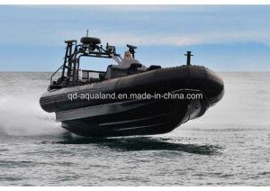 Aqualand 30feet 9m Rigid Inflatable Boat/Military Patrol/Rib Boat (RIB900B) pictures & photos