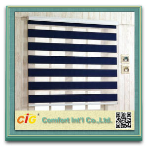 High Quality Zebra Roller Curtain Blackout Zebra Blind pictures & photos