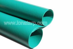 Green Color PVC Coated Tarpaulin