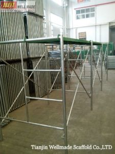 1219X1700mm Steel Ladder H Frame Scaffolding pictures & photos