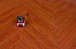 Herringbone Laminate Flooring 822 pictures & photos