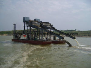 Iron Sand Pumping & Separating Dredging Ship for Sea Sand Mining pictures & photos