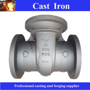 Precision Steel and Iron Sand Casting Valve Body pictures & photos