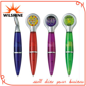Plastic Magnetic Pen with Expoxy Logo for Promotion (DP530) pictures & photos