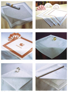 100% Hot-Selling High Quality Napkin & Hotel Textile (DPR3026) pictures & photos