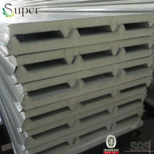 Hot Sale Polyurethane /PU Sandwich Panel for Wall and Roof pictures & photos