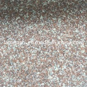 Polished Natural G687 Peach Red Granite Stone for Paving, Countertop pictures & photos