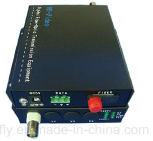 1CH Cvi Tvi Ahd Fiber Optical Video Converter with RS485/RS422/RS232 pictures & photos