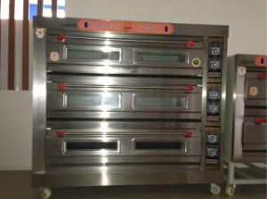 Best Offer for 3 Deck 9 Trays Deck Oven pictures & photos