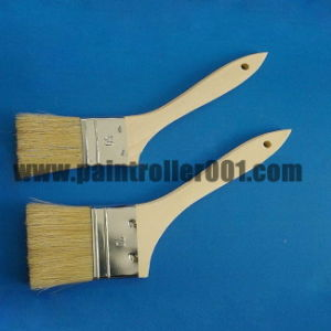 Wooden or Plastic Handle Bristle Paint Brush pictures & photos
