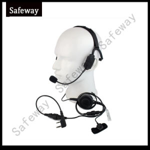 Military Bone Conduction Tactical Headphone Headset pictures & photos