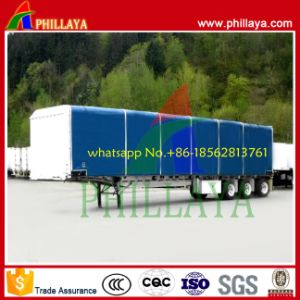 Traping Water Tight Curtain Side Semi Trailer pictures & photos