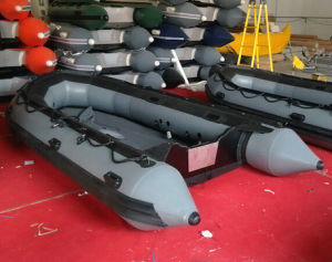 4.3m/14ft PVC/ Hypalon Inflatable Boat Fishing Boat with CE Military Inflatable Boat pictures & photos
