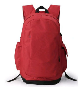 Red Customized Backpack Travel Duffel Bags pictures & photos