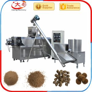 Floating Fish Food Pellet Making Machine Extruder Line pictures & photos