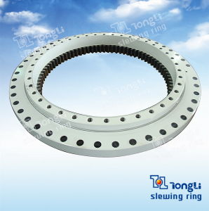 Double Row Steel Ball Slewing Bearing with ISO 9001 for Crane pictures & photos