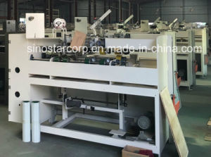 Double Servo High-Speed Semi-Automatic Box Stitcher pictures & photos
