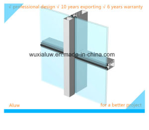 Energy Saving Aluminum Glass Curtain Wall pictures & photos